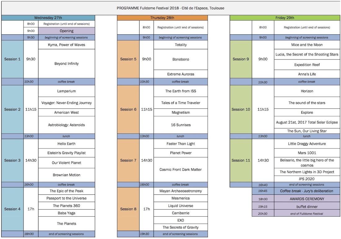 FulldomeFestival | INTERNATIONAL PLANETARIUM SOCIETY - IPS 2018